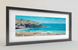 Тончо Тончев - картина Морски бряг