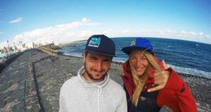 Wind2Win: Илияна и Йоан, които ще прекосят Черно море с уиндсърф