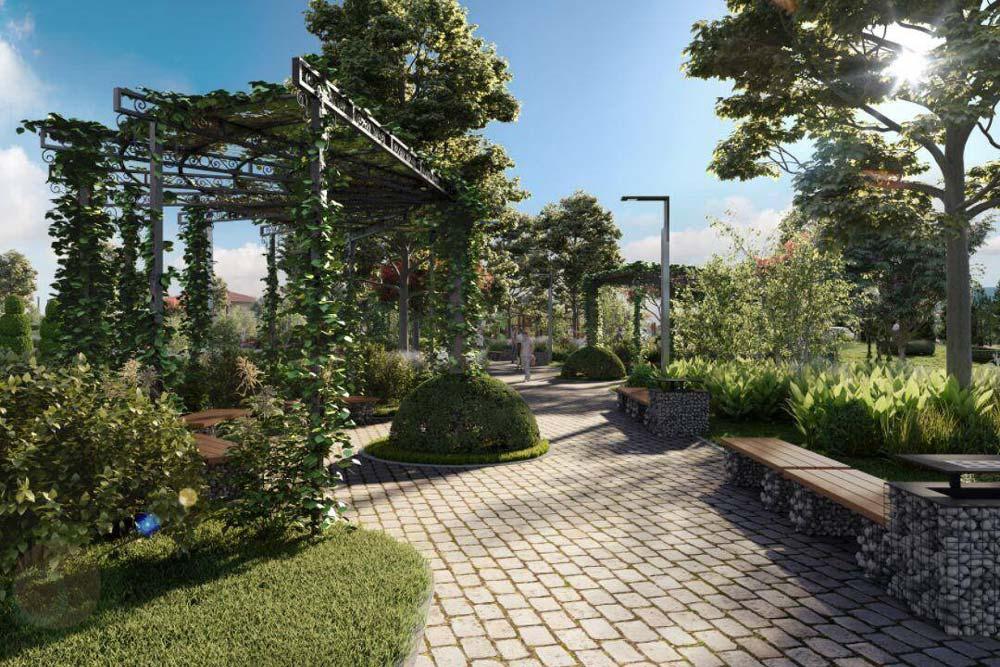 Новата морска градина в Лозенец