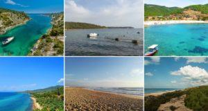 3 европейски страни и тяхното крайбрежие