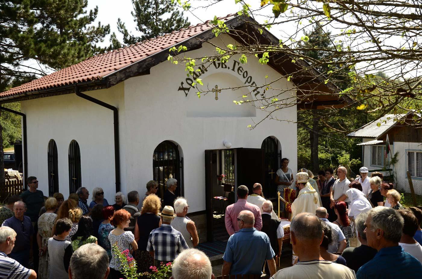 Нов храм в село Кондолово