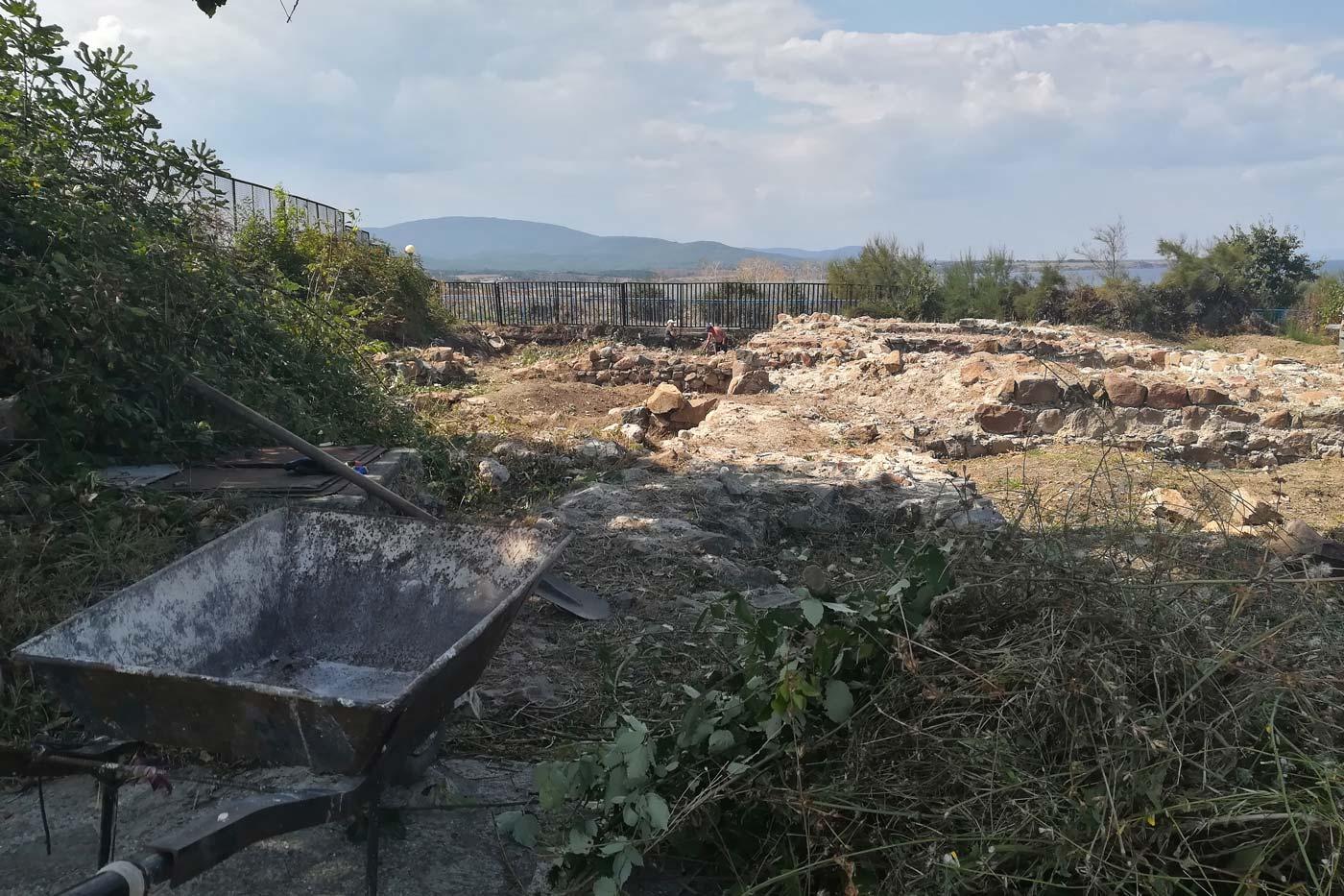 Археологически разкопки в Ахтопол